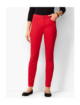 Denim Jeggings   Classic Red by Talbots