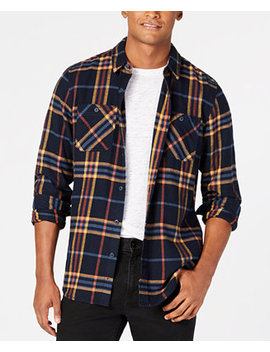 Men's Kendrick Flannel 2 Shirt, Created For Macy's by American Rag