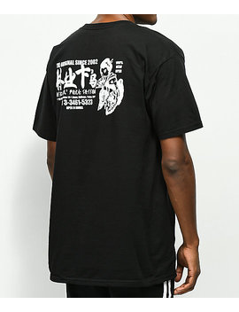 Huf Stick N Poke Black T Shirt by Huf