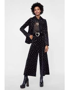 Velvet Culottes  Culottes Pants Woman by Zara