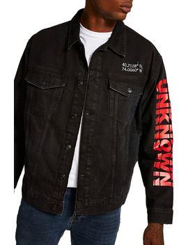 Unknown Destination Oversize Denim Jacket by Topman