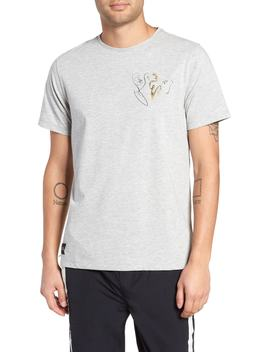 Embroidered Print T Shirt by Native Youth