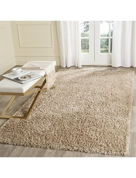 Safavieh Malibu Shag Collection Mls431 N Handmade Natural Polyester Area Rug (8' X 10') by Safavieh