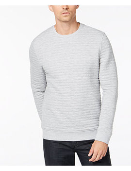Men's Quilted Sweatshirt, Created For Macy's by Alfani