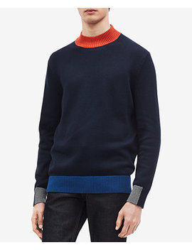 Men's Colorblocked Sweater by Calvin Klein