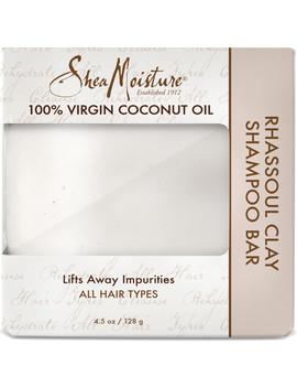 100 Percents Virgin Coconut Oil Daily Hydration Clay Shampoo Bar by Shea Moisture