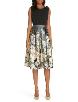 Molyka Gem Gardens Bow Dress by Ted Baker London