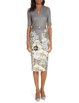 Wendala Gem Gardens Body Con Dress by Ted Baker London