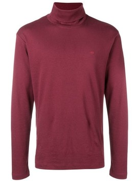 Logo Roll Neck Sweater by Calvin Klein Jeans