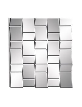 Cole & Grey Wood Wall Mirror by Cole & Grey