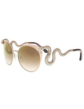 Roberto Cavalli Rc890/S 34 F Menkalinan Bronze Cat Eye Sunglasses by Roberto Cavalli