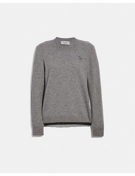 Rexy Patch Crewneck by Coach