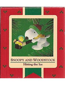 "Hallmark 1985 ""Snoopy And Woodstock"" Hitting The Ice by Hallmark"