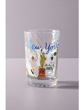 Skyline Juice Glass by Anthropologie