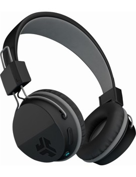 Neon Wireless On Ear Headphones   Black by J Lab Audio