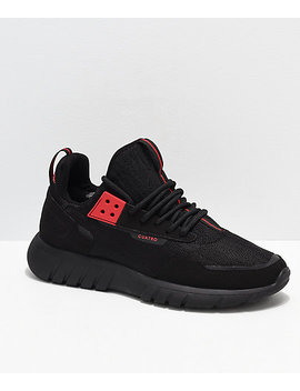 Cu4 Tro Striker Ben Baller Black Knit Shoes by Cu4 Tro