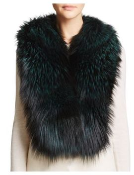 Airgallon Fox Fur Scarf by Maximilian Furs