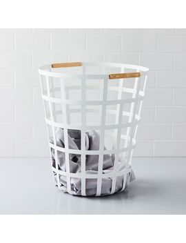 Tosca Round Basket by West Elm