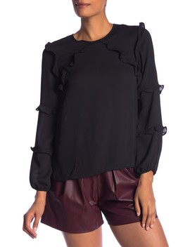 Tiered Ruffle Blouse by Ce Ce By Cynthia Steffe