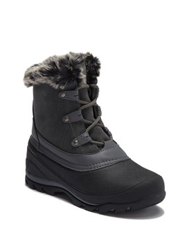 Fairfield Suede Faux Fur Lined Cold Weather Boot by Northside