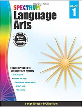Spectrum Language Arts, Grade 1 by Amazon