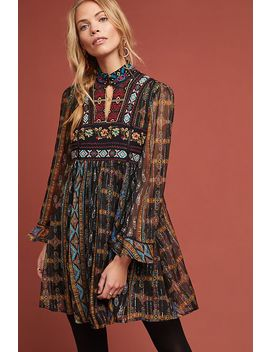 Elina Embroidered Dress by Akemi + Kin