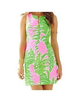 Lilly Pulitzer Mila Shift In Pink Pout Flamenco Size 0 by Lilly Pulitzer