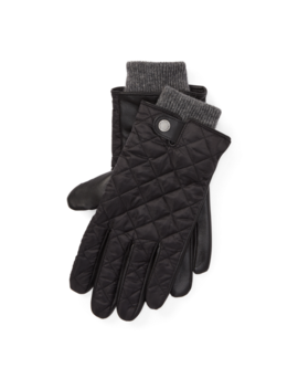 Quilted Field Gloves by Ralph Lauren