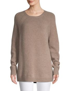 Raglan Sleeve Cashmere Sweater by Saks Fifth Avenue
