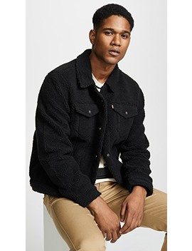 Sherpa Face Trucker by Levi's Red Tab