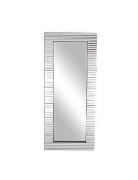Orren Ellis Australe Slatted Accent Full Length Mirror by Orren Ellis