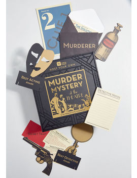 Murder Mystery Night At The Theater by Modcloth