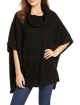 Chunky Knit Poncho by Treasure & Bond