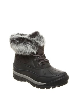 Becka Faux Fur Collar Boot by Bearpaw
