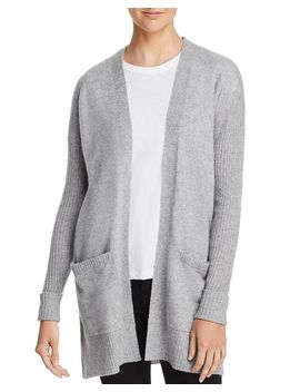 Open Front Cashmere Cardigan   100 Percents Exclusive by Aqua Cashmere