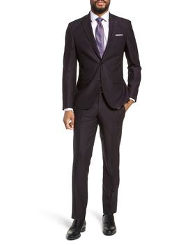 Roger Extra Trim Fit Solid Wool Suit by Ted Baker London