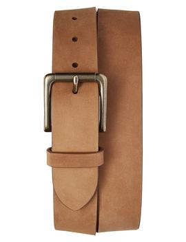 Outrigger Leather Belt by Shinola