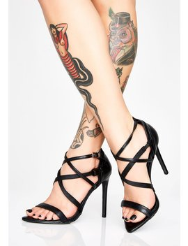 That's A Wrap Strappy Heels by Cape Robbin