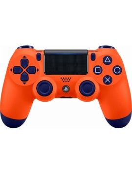 Dual Shock 4 Wireless Controller For Sony Play Station 4   Sunset Orange by Sony