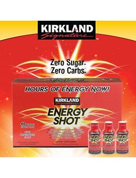 Kirkland Signature Tm Energy Shot 48 Count, 2 Ounces Each By Kirkland Signature Tm by Kirkland Signature Tm