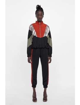 Colorful Sweatshirt  Coord Sets Woman by Zara