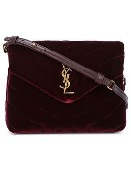 Bolsa Crossbody Con Monograma by Saint Laurent