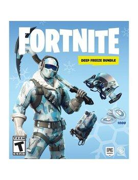 Play Station 4 by Fortnite Deep Freeze Bundle