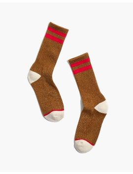 Night Sparkle Sport Trouser Socks by Madewell