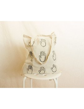 Hand To Hold Tote Bag by Etsy