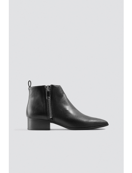 Pau Ankle Boots by Mango