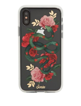 Heart Snake I Phone X Case by Sonix