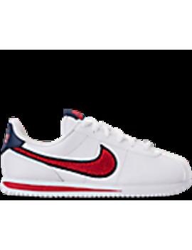 Boys' Big Kids' Nike Cortez Basic Leather Se Casual Shoes by Nike