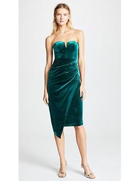 Velvet Allure Dress by Yumi Kim