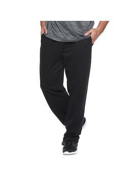 Big & Tall Tek Gear® Ultra Soft Fleece Open Bottom Pants by Big & Tall Tek Gear